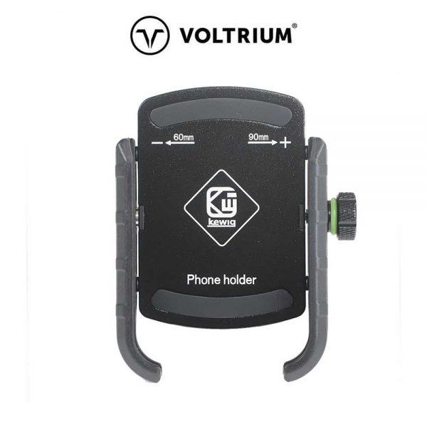 Phone Holder Front Black-min